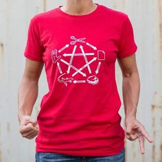 Paper beats rock, therefore life is meaningless. This Big Bang T Shirt features the well known Rock paper Scissors Lizard Spock Cycle Theory. This Graphic Tee is a fitted tee with professionally printed silkscreen. Available in 7 Colors. Dorothy Shoes, Rock Paper Scissors, Geek Humor, Funny Geek, Spock, School Fashion, Graphic Tees, Geek Stuff, T Shirts For Women