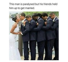people are so fucking stupid. he's not paralyzed. those are his frat brothers