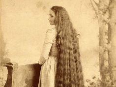 Секрет красивых волос наших бабушек.