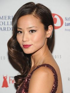 Look Fab in Ankle Strap Booties and a Midi Like Jamie Chung   $175 BUY ➜ http://shoespost.com/jamie-chung-ankle-strap-bootie-style/ I like Jamie Chung. I like her more as a fashionista than a Hollywood celeb. The cutie is such a fantastic dresser. If you're not familiar with Jamie's fashion prowess, check out her blog. The girl can dress, period. She's one of the rare people in Hollywood who actually doesn't need a stylist...