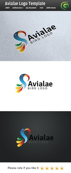 bird logo on Behance