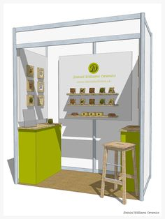 Final design for trade show stand