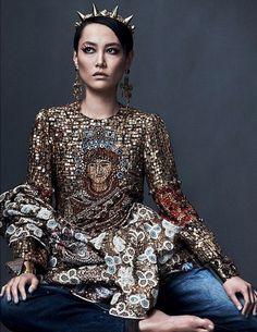 Rinko Kikuchi #queen