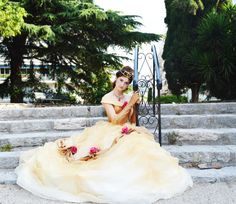 Hey, I found this really awesome Etsy listing at https://www.etsy.com/listing/224947575/belles-ball-gown-from-beauty-and-the