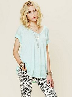 Free People Clothing Boutique > Keep Me Tee