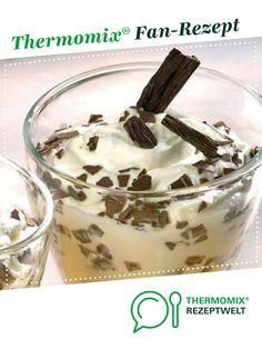Stracciatella-Mandel-Dessert von marfrie. Ein Thermomix ® Rezept aus der Kategorie Desserts auf www.rezeptwelt.de, der Thermomix ® Community.