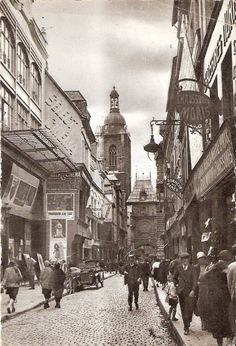 Rouen- les cinémas de la rue du Gros Horloge
