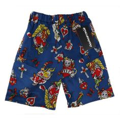 #tattooprint boys shorts by Metallimonsters #alternativekidsclothes