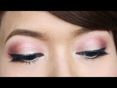 Valentine's Day Makeup Tutorial, Love this look, need to buy this oreal eyeshadow as well as a flat brush