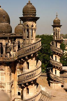 Minaret - Gujarat, India
