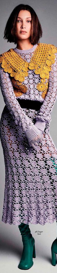 Bella Hadid by Patrick DeMarchelier - Vogue Spain
