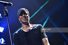 Enrique Iglesias performs onstage during KISS 108's Jingle Ball 2013, at TD Garden on December 14, 2013 in Boston, MA.