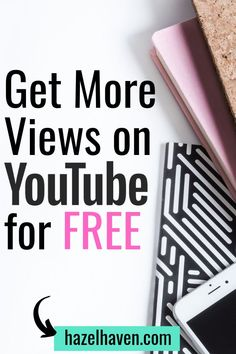 10 Easy Ways to Get More Views on YouTube Videos — Hazel Haven | Video Confidence + Video Marketing Tips Marketing Software, Marketing Tools, Social Media Marketing, Marketing Ideas, Internet Marketing, Digital Marketing, Youtube Hacks, You Youtube, Youtube Website
