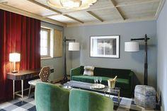 L'Apogee Courchevel - Chambre - Salon - Hotel Luxe - Dirand - Madhavi