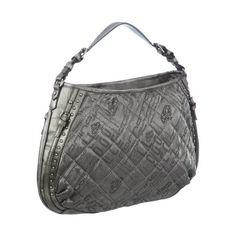 SeguiPrezzi.it - Fornarina Bags TYLER QUILT B614N190, Borsa donna, 47x32x10 cm (L x A x P), Grigio (Grau (Steel 93)), 47x32x10 cm (L x A x P) - Prezzo: EUR 50.03 (54% di sconto)