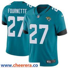 f844b49d9 Nike Jacksonville Jaguars  27 Leonard Fournette Teal Green Team Color Men s  Stitched NFL Vapor Untouchable