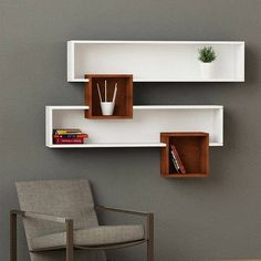 Home Decor Furniture, Furniture Plans, Diy Home Decor, Furniture Design, Room Decor, Green Furniture, Pallet Furniture, Wall Shelf Decor, Wall Shelves Design