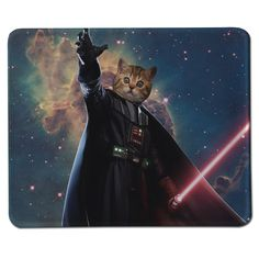 Hot Moive Star Wars Universe Darth Vader Cat Style Large Gaming Speed Play Mouse Pad for PC Laptop Computer Rubber Mice Mat #Affiliate