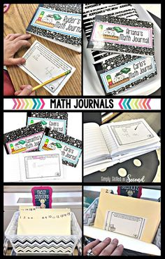 math journals, guide