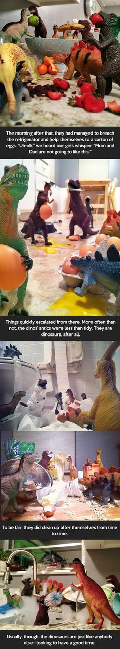 amazing parents convince kids dinosaur come to life part 2