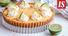 Anni leipoi raikkaan ja herkullisen limepiirakan, joka sopii vaikka pääsiäispöytään. Jamie Oliver, Key Lime, Baking Recipes, Cheesecake, Florida, Easter, Sweets, Desserts, Food