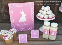 Easter is Blooming printables