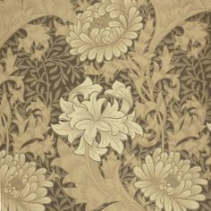 William Morris Fabrics and Wallpapers | Home Wallpapers William Morris & Co Archive 2 Wallpapers Chrysanthemum ...