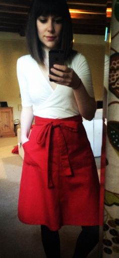 Kat's Miette skirt - sewing pattern by Tilly and the Buttons