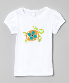 Look at this White Island Hopping Sea Turtle Tee - Infant, Toddler