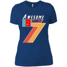 Awesome Since 1977 Aged To Perfection 40th Birthday T-Shirt