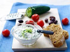 Tzatziki Tzatziki, Antipasto, Allrecipes, Guacamole, Hummus, Tapas, Food To Make, Nom Nom, Side Dishes