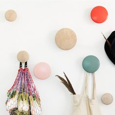 HAUS - The Dots Coat Hooks Singles by Tveit & Tornoe