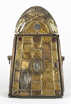 The Bell shrine of St. Patrick    Commissioned by Domnall MacLochlainn, High King of Ireland, between A.D. 1091 - 1105