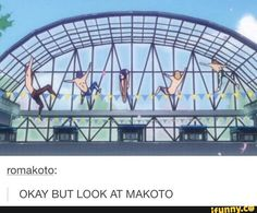why are we talking about makoto while haru is bending gravity in the center