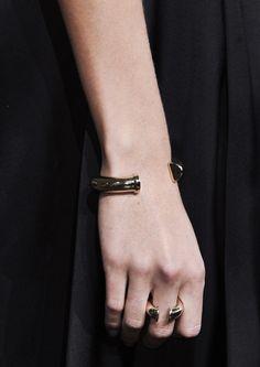 Jason Wu S/S 2015. #ring #bracelet #accessories
