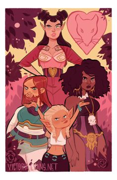 Rat Queens by Victoria Evans