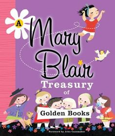 """A Mary Blair Treasury of Golden Books"" is an absolutely fabulous collection of rare and out of print work by the talented and revered Mary Blair. The original artwork from the 1940s and 1950s has been digitally reproduced and has never been so fun and colorful! This perfect gift will delight Blair fans of old, and also introduce her to a whole new generation. ~Kaley"
