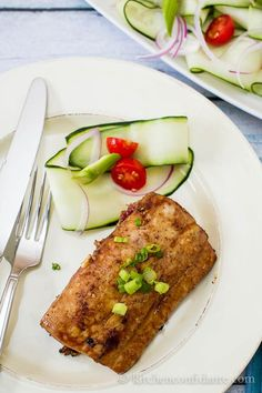 Soy-Sesame Grilled Fish | Kitchen Confidante