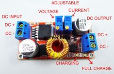 Picture of ModifIcation in the DC-DC Converter. Electronics Projects, Hobby Electronics, Electrical Projects, Projets Raspberry Pi, Power Supply Design, Toroidal Transformer, Electronic Circuit Design, Power Supply Circuit, Dc Dc Converter