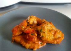 Emperador con tomate para #Mycook http://www.mycook.es/cocina/receta/emperador-con-tomate