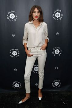 Best Dressed Alexa Chung in white