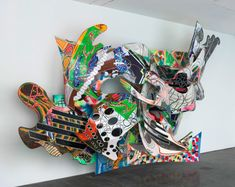 In Case You Missed It: Frank Stella Inspired Children's Art Project | Art is Basic | An Elementary Art Blog