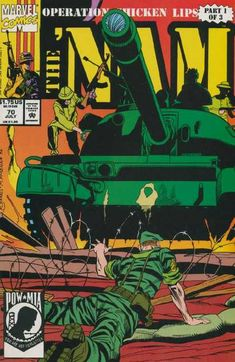 Cover for The 'Nam (Marvel, 1986 series) Marvel Dc, Marvel Comics, Comic Superheroes, Comic Book Covers, Comic Books, War Comics, Adventure Movies, Retro Waves, Classic Comics