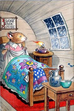Town Mouse and Country Mouse - Katie Country Mouse goes to London : Bed Time by Philip Mendoza