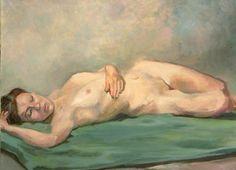 Sleeping beauty. Kristy Edwards oil on linen
