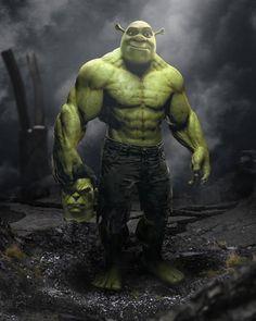 Hulk Marvel, Marvel Art, Hulk Avengers, Fantasy Character Design, Character Art, Arte Do Hulk, Hulk Art, Marvel Funny, Shrek