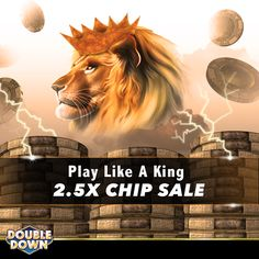 Get a royally good deal with more than double the chips! You can collect 150,000 FREE chips and buy now when you tap the Pinned Link, or use code VGWKPQ.