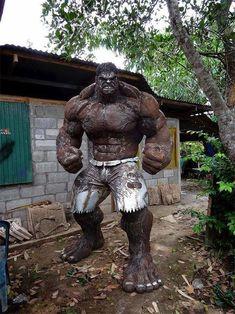 Esse Hulk de metal ficaria daora na minha coleção... | Geek Project
