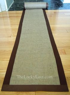 ideas about Burlap Table Runners Burlap