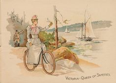 The Daily Postcard: Victor Bicycles - Overman Wheel Co.